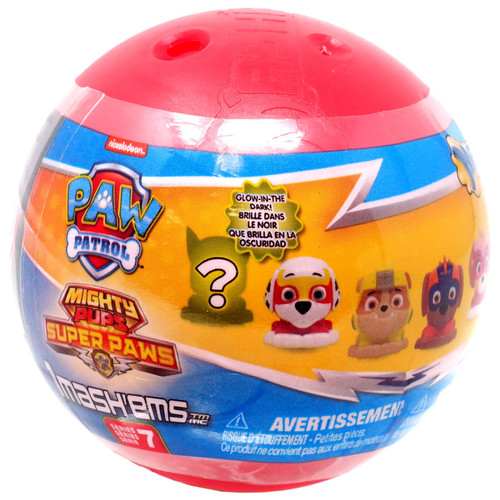 Paw Patrol Mighty Pups Super Paws Mash'Ems Series 7 Mystery Pack