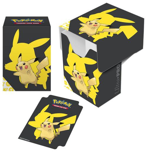 Ultra Pro Pokemon Trading Card Game Card Supplies Pikachu Deck Box [2019]