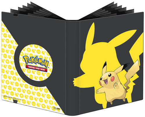 Ultra Pro Pokemon Trading Card Game Pikachu 9-Pocket Portfolio [2019]