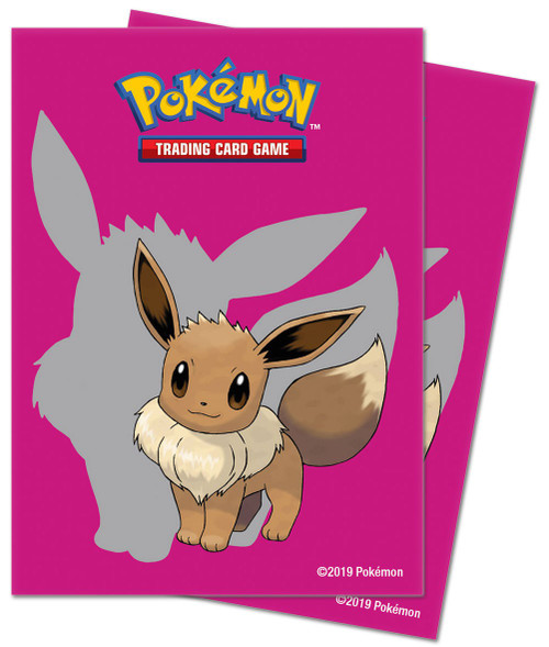 Ultra Pro Pokemon Trading Card Game Eevee 65 Card Sleeves [2019]