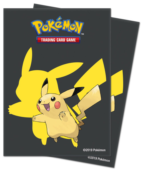 Ultra Pro Pokemon Trading Card Game Pikachu Card Sleeves [65 Count, 2019 Version]