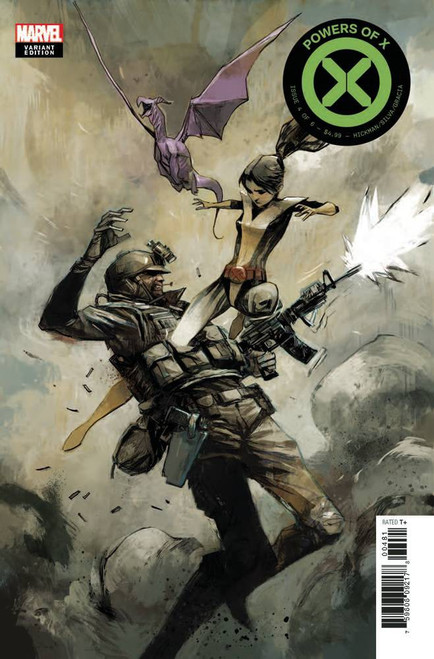 Marvel Comics Powers of X #4 Comic Book [Mike Huddleston Variant Cover]