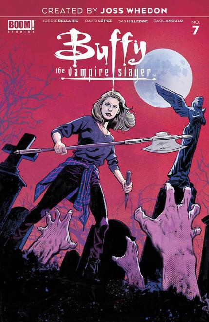 Boom Studios Buffy The Vampire Slayer #7 Comic Book [Michael Walsh Variant Cover]