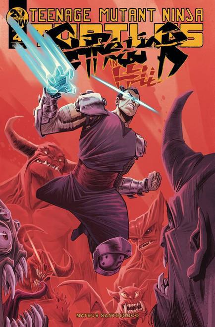 IDW Teenage Mutant Ninja Turtles Shredder in Hell #4 Comic Book [Marcello Costa Variant Cover]