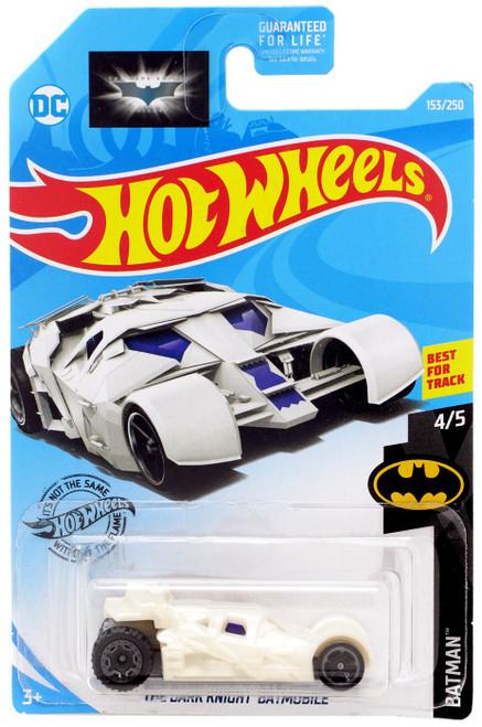 Hot Wheels Batman The Dark Knight Batmobile Die-Cast Car [White]
