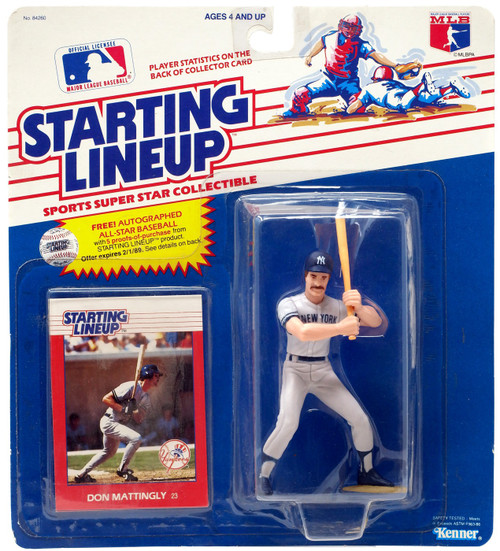 MLB Starting Lineup Don Mattingly Action Figure [Moderate shelf wear]