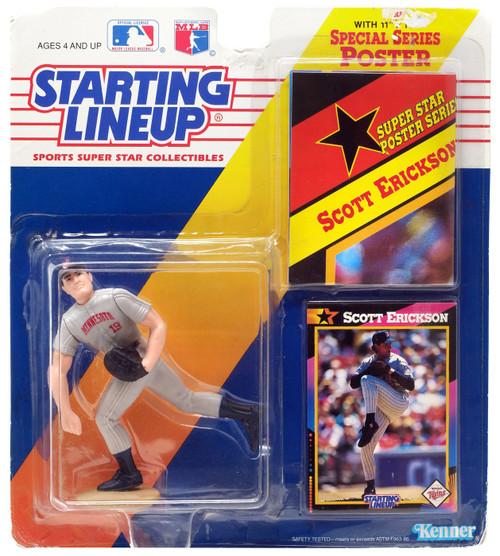 MLB Starting Lineup Scott Erickson Action Figure [Moderate shelf wear]