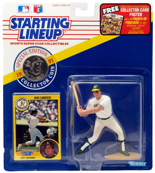 MLB Starting Lineup Jose Canseco Action Figure [Moderate shelf wear]