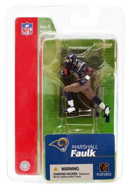 McFarlane Toys NFL St. Louis Rams Sports Picks 3 Inch Mini Marshall Faulk Mini Figure [Version 2]