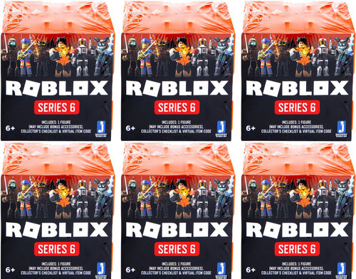 Roblox Series 6 LOT of 6 Mystery Packs