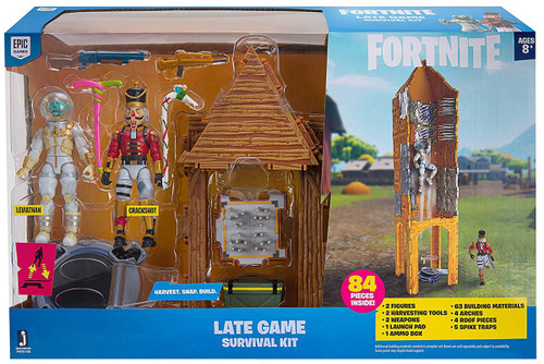 Fortnite Late Game Survival Kit Action Figure Playset