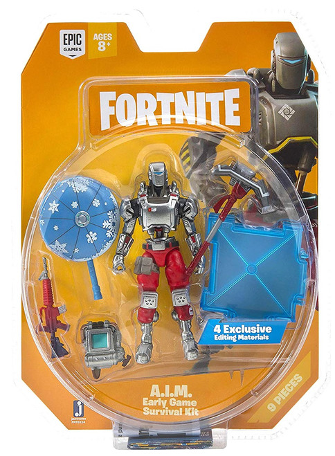 Fortnite Early Game Survival Kit A.I.M. Action Figure