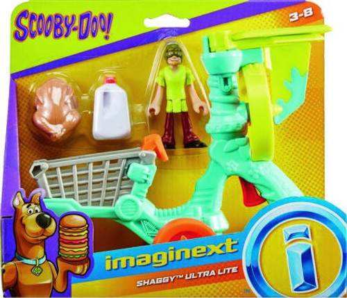 Fisher Price Scooby Doo Imaginext Shaggy Ultra Lite 3-Inch Figure Set
