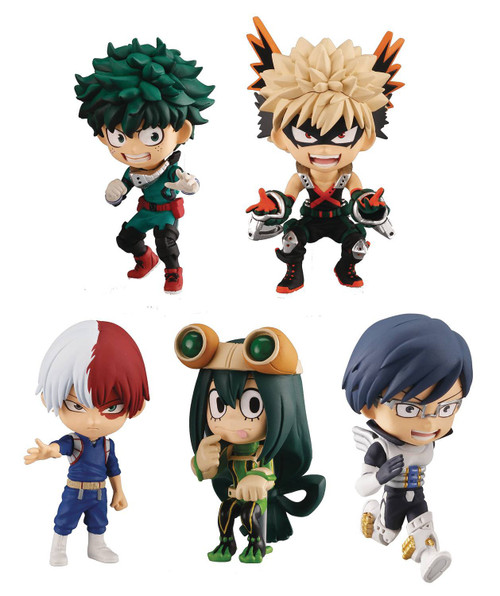 My Hero Academia Mystery Box of 12 Mini PVC Figures