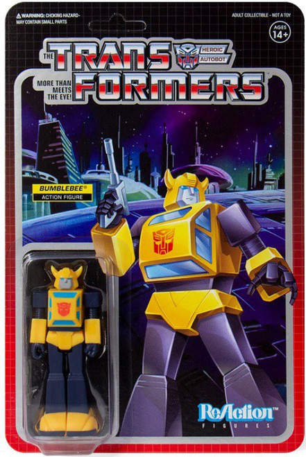 ReAction Transformers Bumblebee Action Figure
