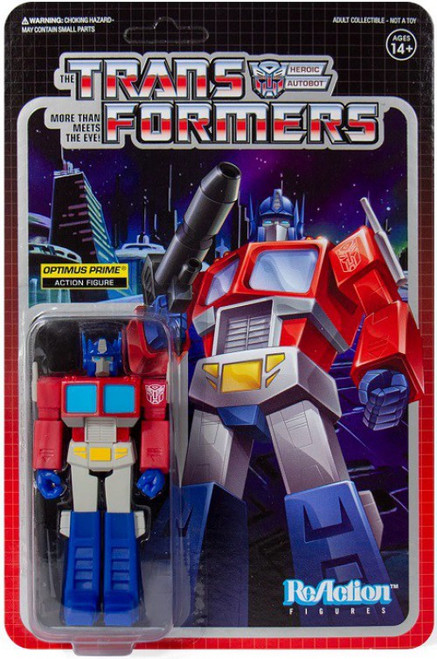 ReAction Transformers Optimus Prime Action Figure