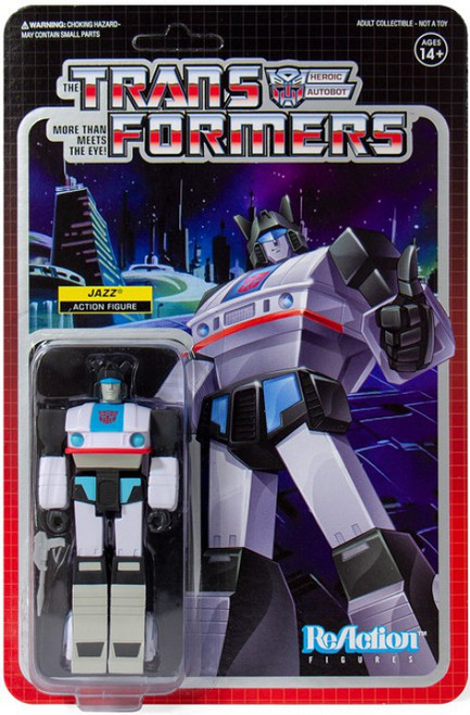 ReAction Transformers Jazz Action Figure