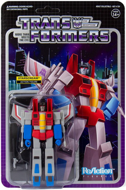 ReAction Transformers Starscream Action Figure