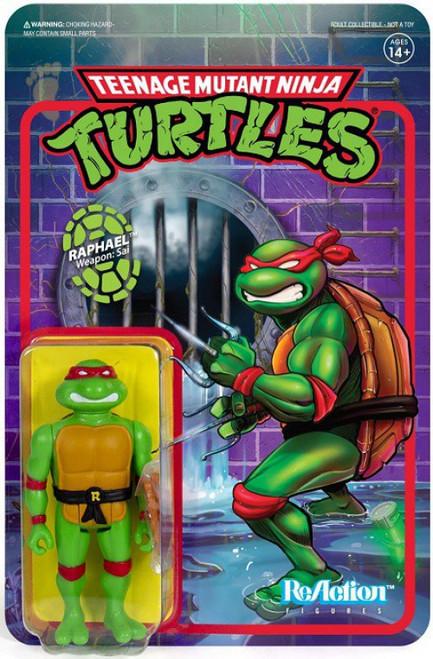 ReAction Teenage Mutant Ninja Turtles Raphael Action Figure