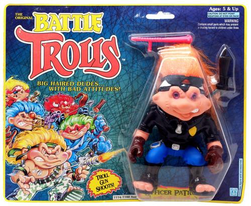 The Original Battle Trolls Officer Patrol Figure [Moderate shelf wear]