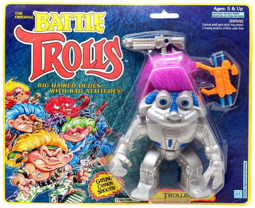 The Original Battle Trolls Trollbot Figure [Moderate shelf wear]