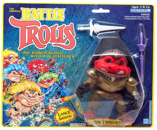 The Original Battle Trolls Sir Trollahad Figure [Moderate shelf wear]