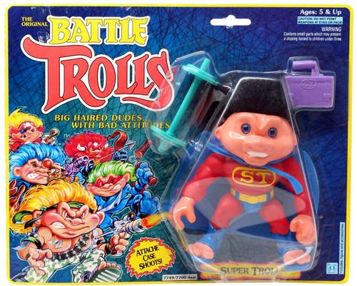 The Original Battle Trolls Super Troll Figure [Moderate shelf wear]