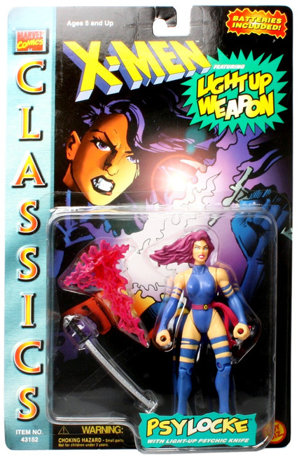 Marvel X-Men Classics Psylocke Action Figure