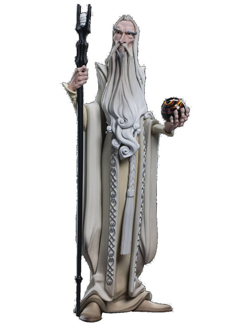 Mini Epics: Lord of the Rings Saruman 6-Inch Vinyl Statue