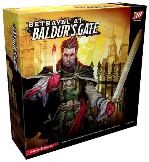 Dungeons & Dragons Betrayal at Baldur's Gate Board Game