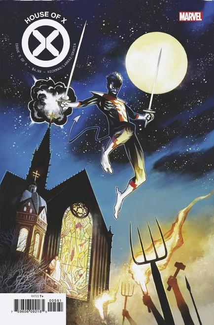 Marvel Comics House of X #5 Comic Book [Mike Huddleston Variant Cover]