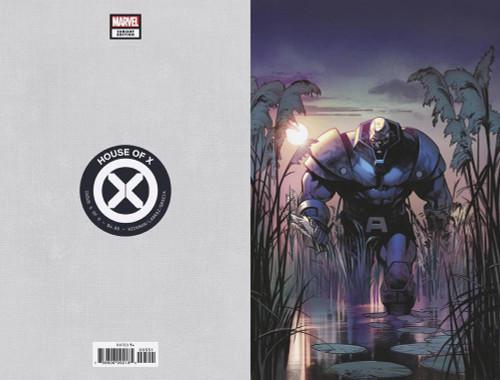Marvel Comics House of X #5 Comic Book [Pepe Larraz Virgin Variant Cover]