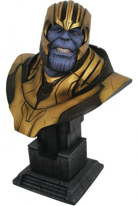 Marvel Avengers: Inifinity War Legendary Comic Thanos Half-Scale Bust [1/2 Scale]