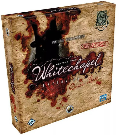 Letters from Whitechapel Dear Boss Board Game Expansion