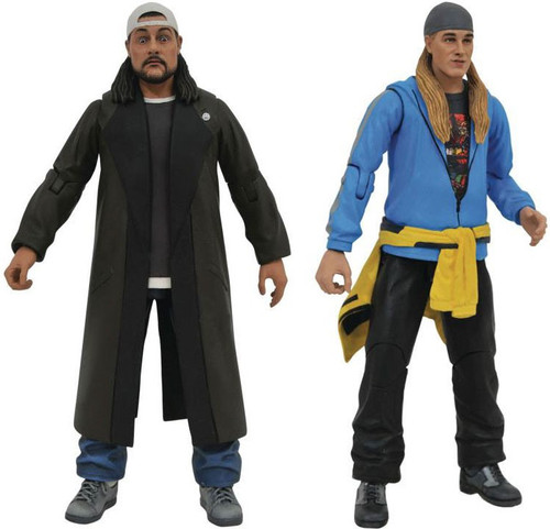 Jay & Silent Bob Reboot Jay & Silent Bob Set of Both Action Figures