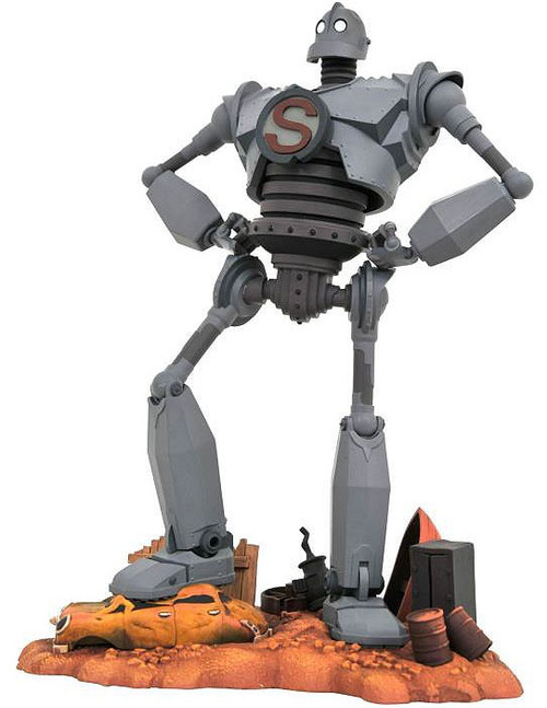 The Iron Giant Movie Gallery Iron Giant 10-Inch Collectible PVC Statue [Superman]