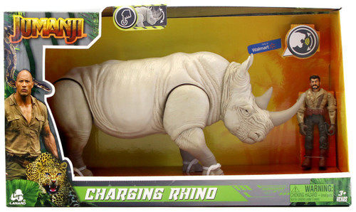 Jumanji Charging Rhino Exclusive Figure Set [with Sound]