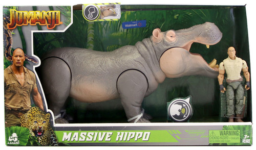 Jumanji Massive Hippo Exclusive Figure Set [with Sound]