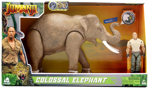 Jumanji Colossal Elephant Exclusive Figure Set [with Sound]