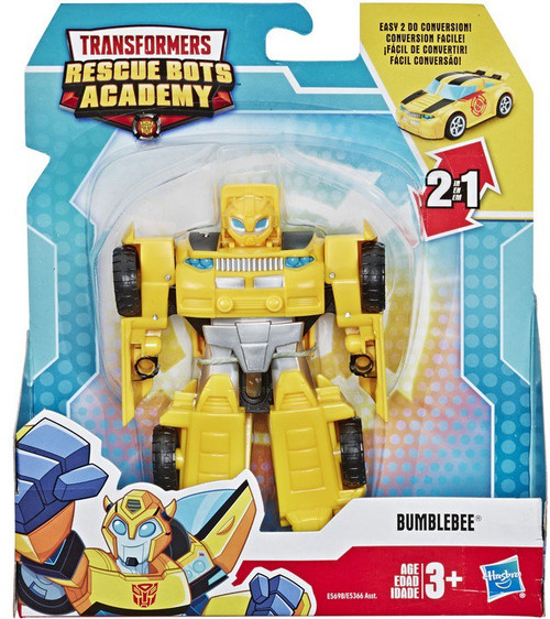 "Transformers Playskool Heroes Rescue Bots Academy Bumblebee 4.5"" Action Figure [Version 2]"