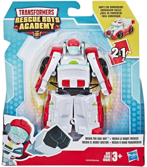 """Transformers Playskool Heroes Rescue Bots Academy Medix the Doc-Bot 4.5"""" Action Figure"""