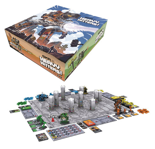 GKR: Heavy Hitters Board Game Boxed Set