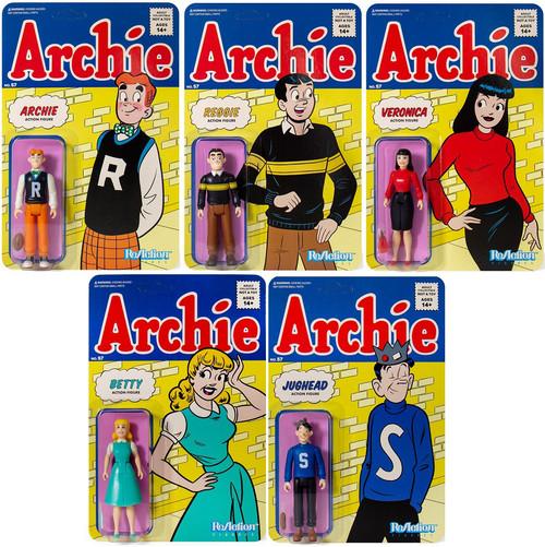 ReAction Archie Comics Set of 5 Action Figures