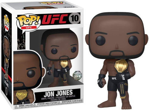Funko POP! UFC Jon Jones Vinyl Figure #10 [UFC Legacy Championship Belt]