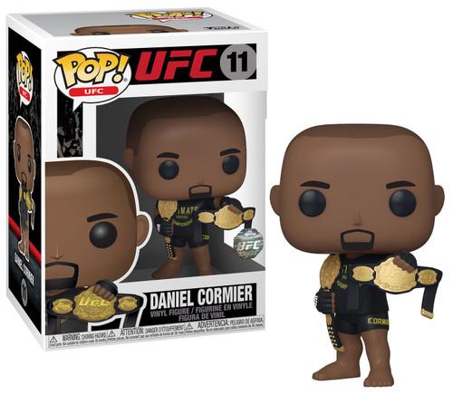 Funko POP! UFC Daniel Cormier Vinyl Figure [Two UFC Classic Championship Belts]