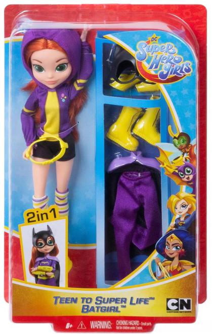 DC Super Hero Girls Teen to Super Life Batgirl 12-Inch Doll