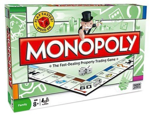 Family Monopoly Board Game