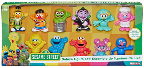 Sesame Street Deluxe Figure Set Exclusive 11-Pack