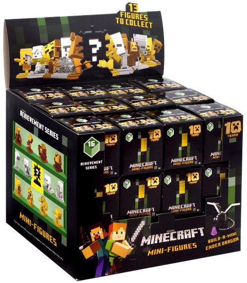 Minecraft Achievement Series 16 Mystery Box [36 Packs]