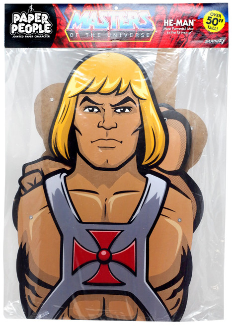 Paper People Masters of the Universe He-Man 55-Inch Decoration
